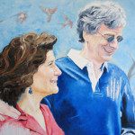 Ed and Betsy, Oil on Canvas, 2005