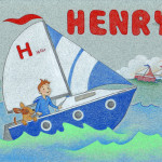 H is for Henry, commissioned gift 2010.