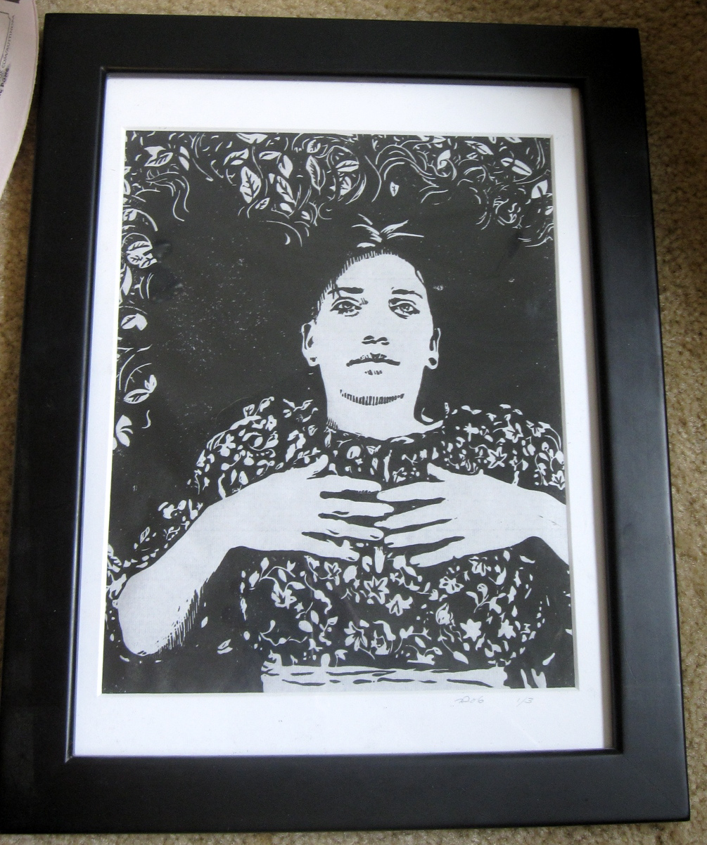 ID: M1 Mandy-Framed. Regular price $150, bidding starts at $15. Nicer slides can be found in the 'archived fine art' section