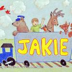 """Jakie"" Commissioned nursery art, 2010"