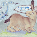J is for James - Gift for The Riddells