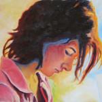 Margaret, Oil on canvas board 2006