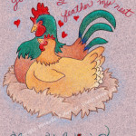 Valentine's Day Card - Prints on folded notecards for just $10