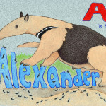 A is for Alexander commissioned gift 2010.