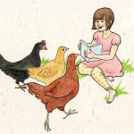 Reading to Chickens
