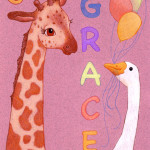 G is for Grace, commissioned gift 2009.