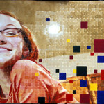 Megan, Oil and Acrylic on canvas 2002