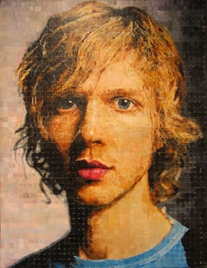 Full Grown Man, Oil on canvas 2000