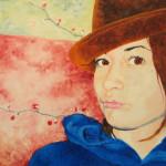 Self Portrait, Oil on canvas board 2006