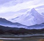 Mt. Shasta, Oil on canvas 2001