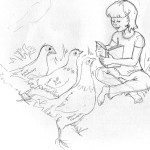 sketh_chickenreading