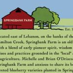 Spring Bank Farms, Company Branding